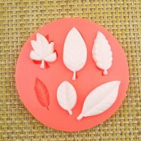 Multi Leaves silicone mold for fondant or chocolate L002