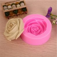 Rose Flower Silicone Mold For hand made soap Molds L007
