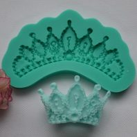 Crown mould silicone mold for baking and cake decorating L129