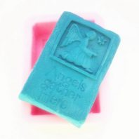 Angel gather hero silicone mold for hand made soap and crafts L137