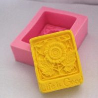 Multi Roses silicone mold for hand made soap and crafts L139