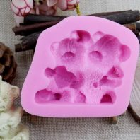 Life is good flower silicone mold for fondant or chocolate etc L140