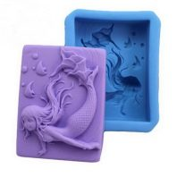 Kiss lips silicone mold for hand made soap and crafts L142