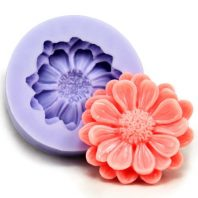 3 Layers Beautiful Flower silicone mold for fondant or chocolate or cake decoration L015