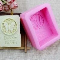 Embrace your life silicone mold for hand made soap and crafts L157