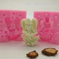 Angel silicone mold for fondant or chocolate etc L161
