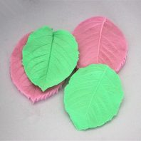 Multi leaves silicone mold for baking and cake decorating L163