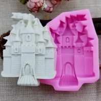 Castle soap mould silicone mold for hand made soap and crafts L184