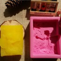 Angel soap mould silicone mold for hand made soap and crafts L197