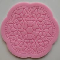 Petal flower lace silicone mold for fondant DIY cake decoration L245