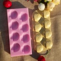 Mushrooms silicone mold for fondant DIY cake decoration L318