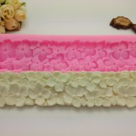 Flower lace silicone mold for fondant chocolate DIY cake decoration L420