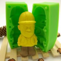 Guangtou qiang silicone mold for fondant chocolate DIY cake decoration L437