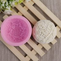Chinese yuebing silicone mold for handmade soap and crafts L474
