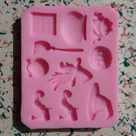 Halloween theme Items Mold For Fondant