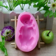 A baby Silicone Mold For hand made soap L056