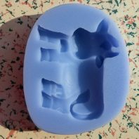 A Cow Silicone Mold For hand made soap L084