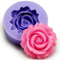 Rose silicone mold for fondant or chocolate or cake decoration L094