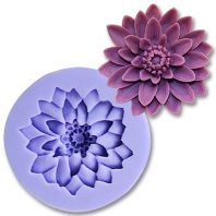 Flower silicone mold for fondant or chocolate or cake decoration L095