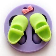 Shoes & Bow Tie silicone mold for fondant or chocolate or cake decoration L097