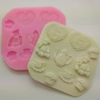 10 cavities decoration silicone mold for fondant candy DIY cake decoration L601