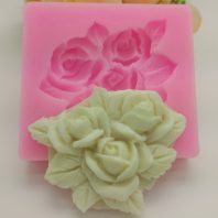 3D nicole flower silicone mold for fondant candy DIY cake decoration L658