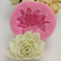Nicole flower silicone mold for fondant candy DIY cake decoration L663