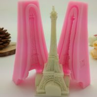 Effel Tower silicone mold for hand made soap and crafts L730