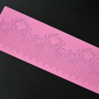 Cake lace silicone mold for fondant candy chocolate DIY cake LS10012