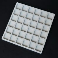 36 cavity square grid silicone mold for fondant candy chocolate DIY cake LS10038