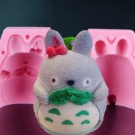 Mengmeng rabbit silicone mold for fondant candy chocolate DIY cake LS10040