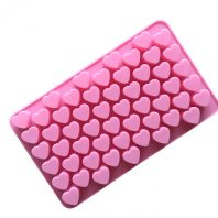 50 Cavities 3D Hearts Silicone Mould Tray LMH008