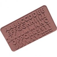 Letters Silicone Mould Tray LMH022