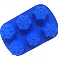 Snow Flowers Silicone Mould Tray LMH041