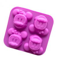 Cartoon Cats Silicone Mould Tray LMH050