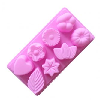 Fruits & Leaves Silicone Mould Tray LMH068