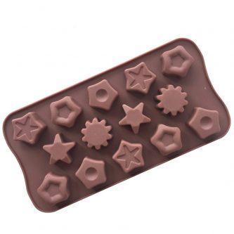 Muti Stars Silicone Mould Tray LMH071