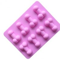 8 Cavities Lollipop Silicone Mould Tray LMH075