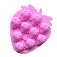 Strawberry Silicone Mould Tray LMH081