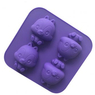 Cartoon Bears Silicone Mould Tray LMH093