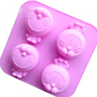Cartoon Robots Cats Silicone Mould Tray LMH097