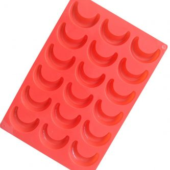 Falcate Moon Silicone Mould Tray LMH112