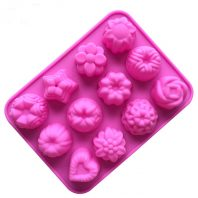 Multi Flowers Silicone Mould Tray LMH124