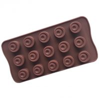 15 Cavities Little Half Moon Point Silicone Mould Tray LMH129