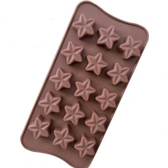 15 Cavities Stars Silicone Mould Tray LMH130