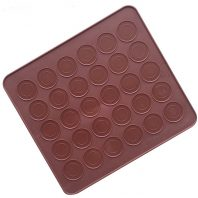 Round Coins Mat Silicone Mould Tray LMH134