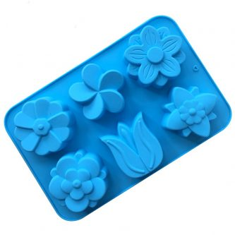 Multi Flowers Silicone Mould Tray LMH137