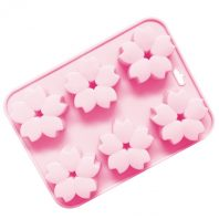 6 Cavities Flowers Silicone Mould Tray LMH145