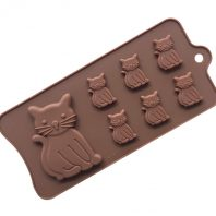 Cats Silicone Mould Tray LMH160