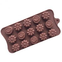 Roses Flowers Silicone Mould Tray LMH180